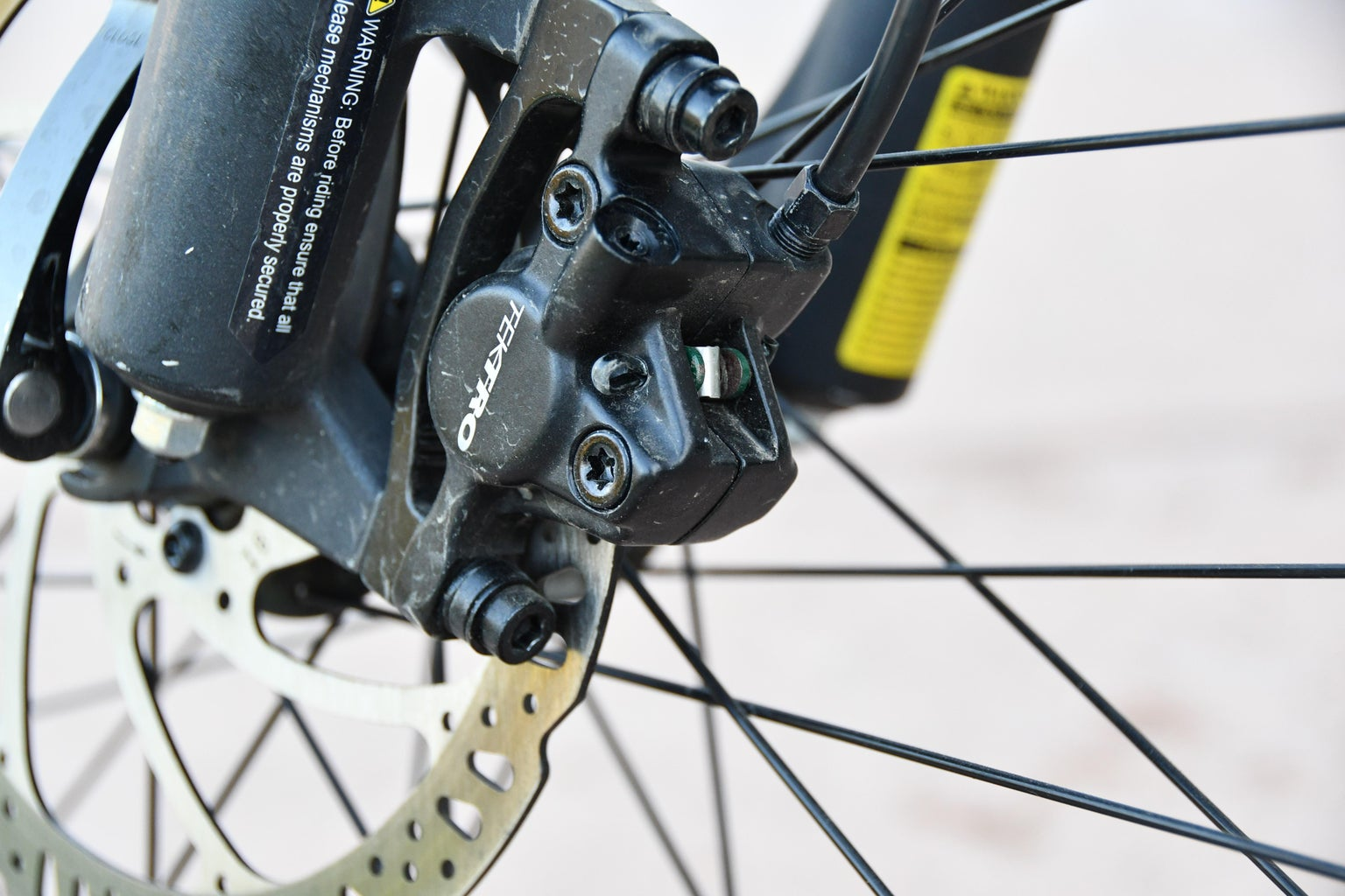 Determine What Brakes and Where the Derailleur Adjustment Screws Are.