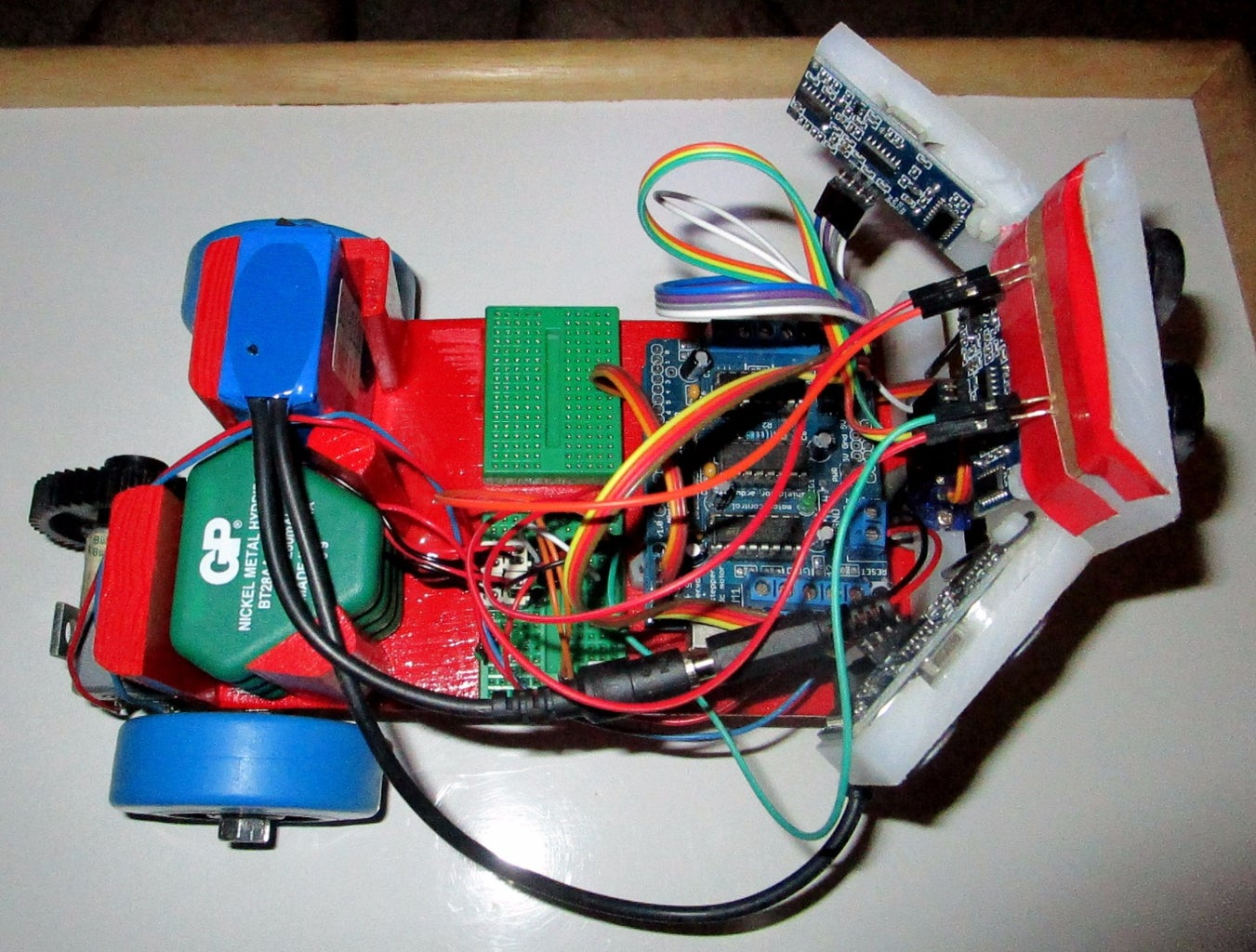 R3: Rolling Red Robot