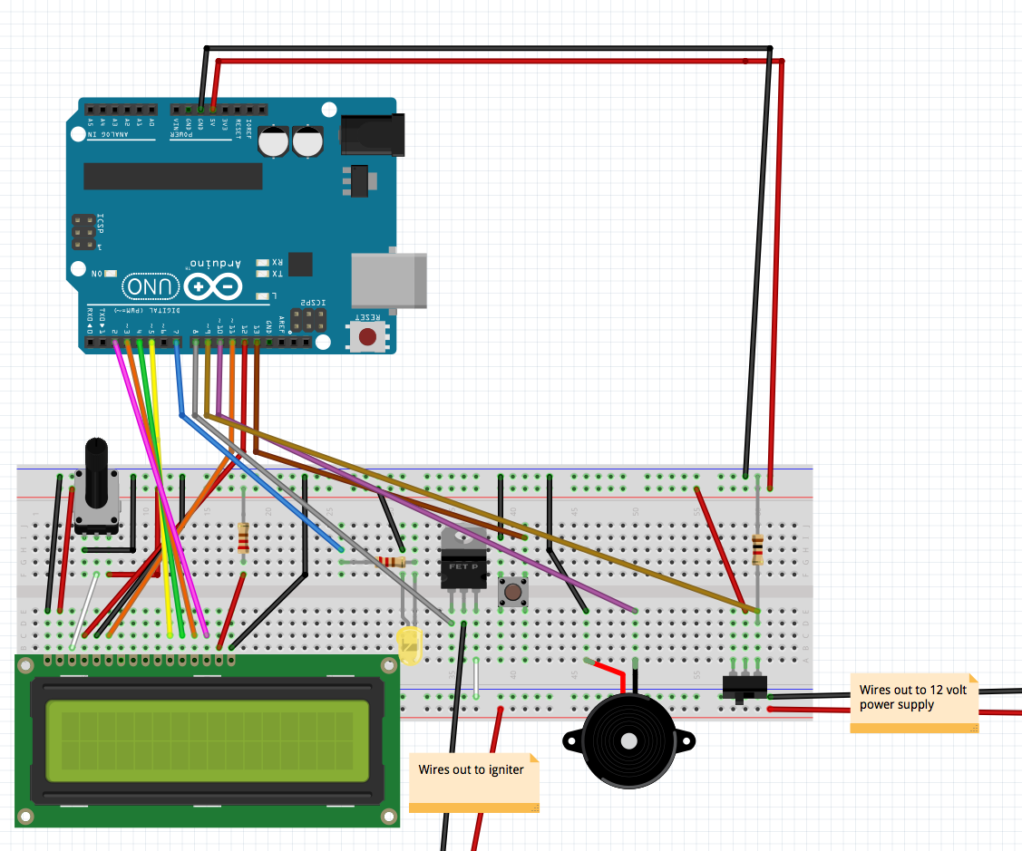 Arduino Rocket Launcher