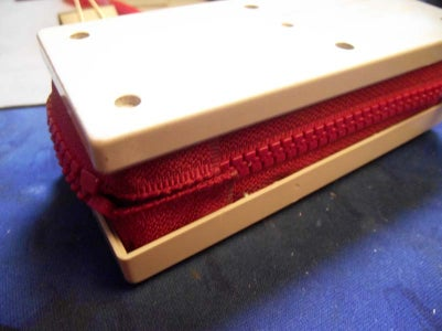 Sewing the Zipper Stops