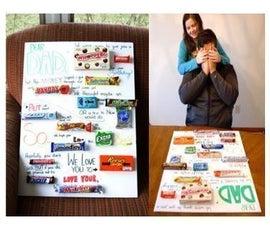 The Candy Bar Card