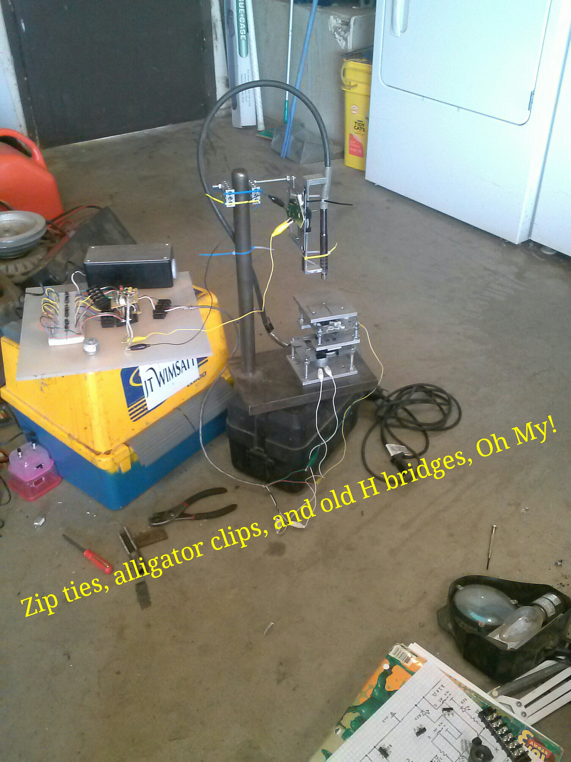 Basic beginners mini 3 axis CNC mill