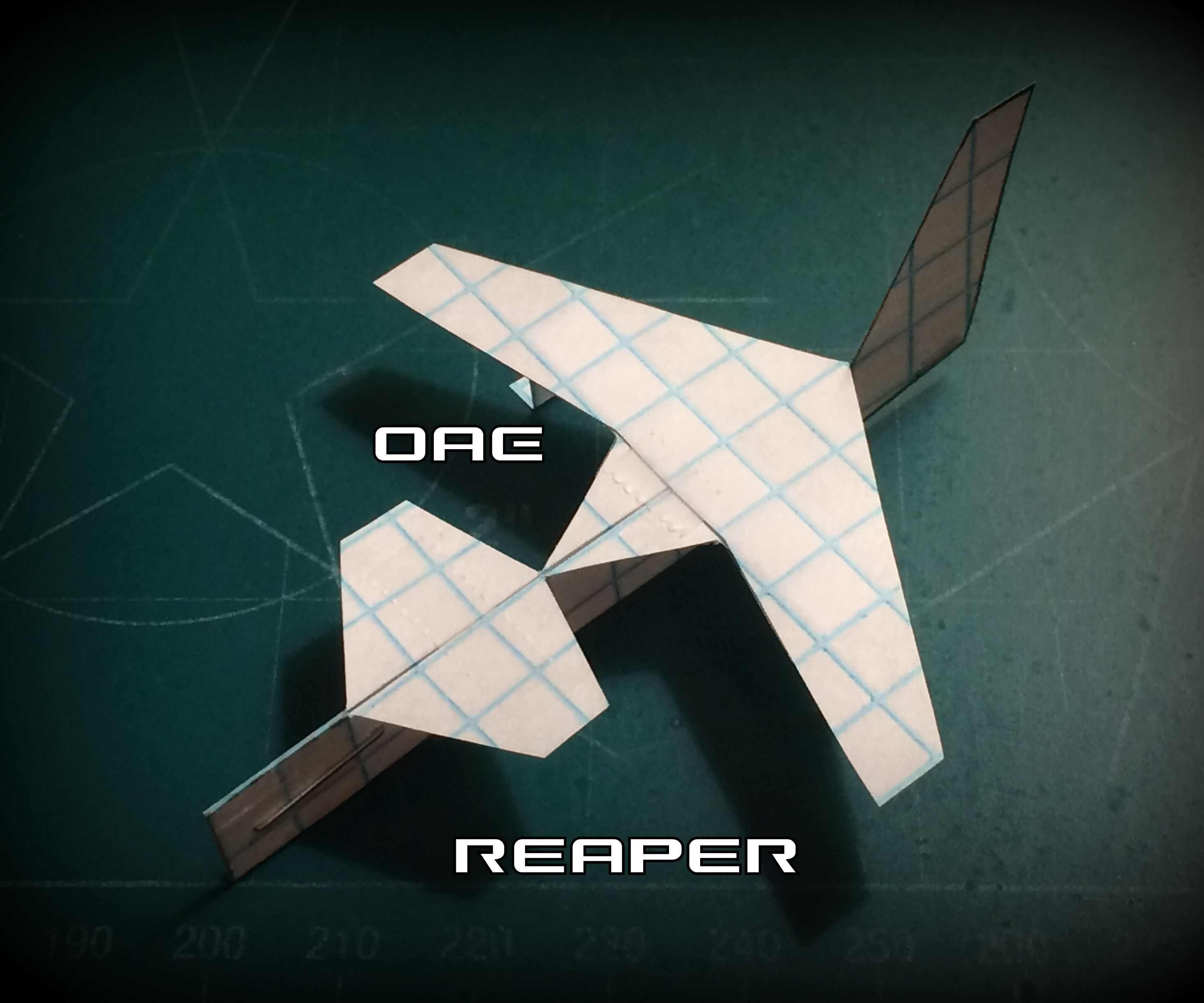 How to Make the Reaper Paper Airplane