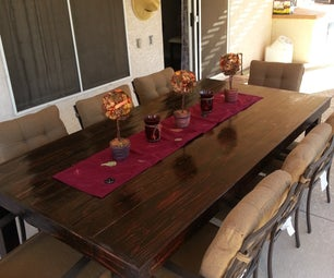 Reused Wooden Table (pallets)