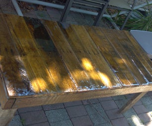 Kids Outdoor Table From Pallet