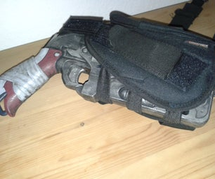 Holster for a NERF Hammershot