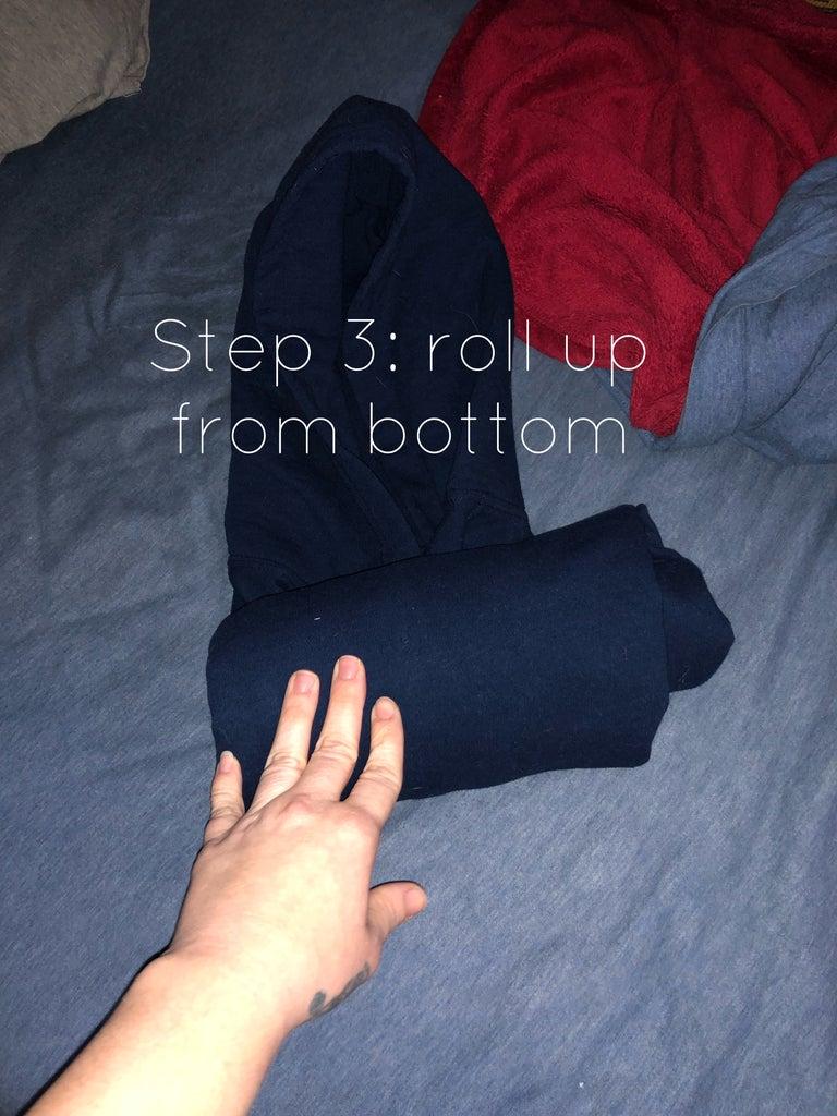 Roll Up the Sweatshirt