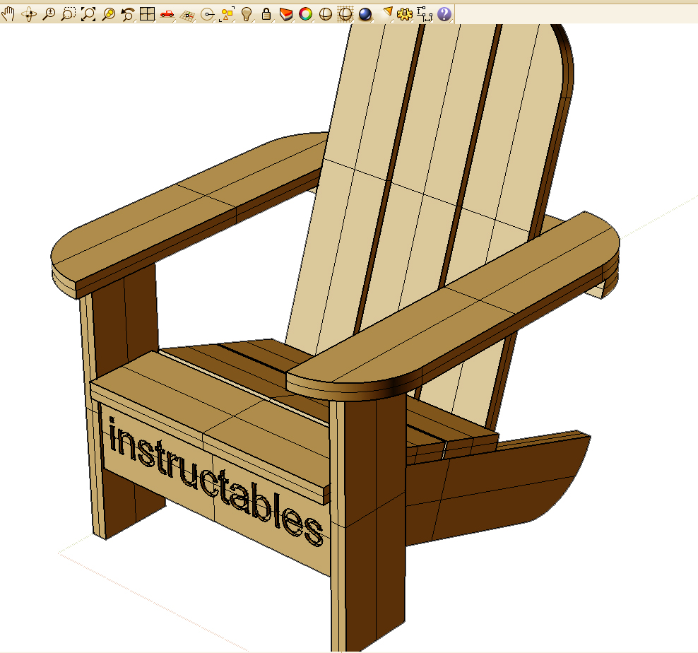Building a Child's Muskoka Chair