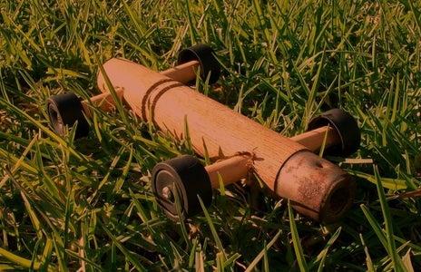 Tool Handle Wooden Car