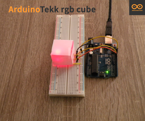 Make a RGB CUBE With Normal Led's !!!