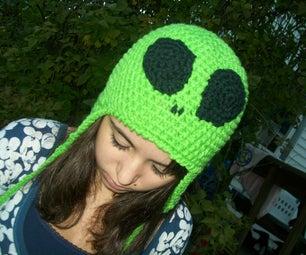 Green Alien Hat