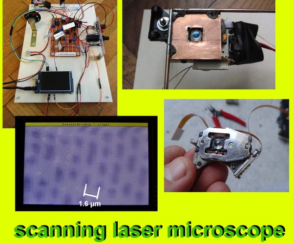 Scanning Laser Microscope With Arduino