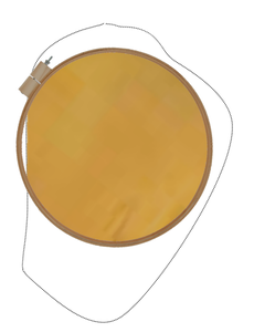 If You Use Leather Chamois, Purchase the Chamois Before You Get the Hoop.