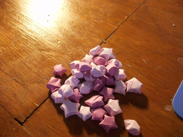 How to Make Japanese Lucky Stars!