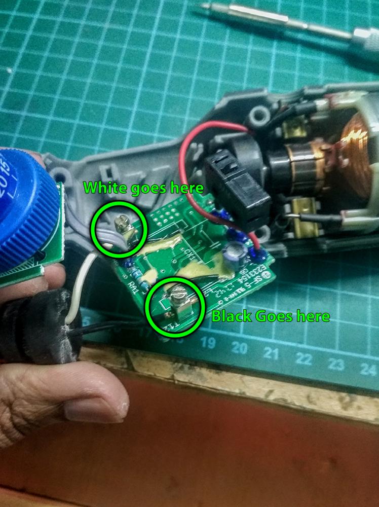 Repairing a Dremel 4000 : 16 Steps - Instructables   Dremel Wiring Diagram      Instructables