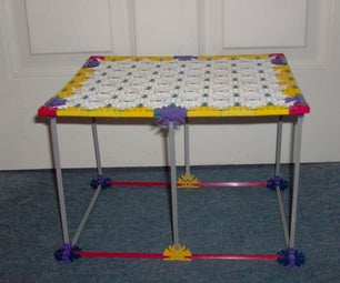 Knex Bedside Table . FEAT. KNEX MINI COOPER S .