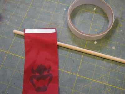 Banner, Flag & Curtain and Some Wheels.