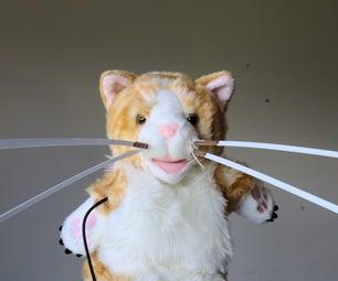 Cyborg工艺品:感觉像一只猫用晶须 - 感官延伸木偶