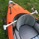 Easy Fishing Rod Holder for a Kayak