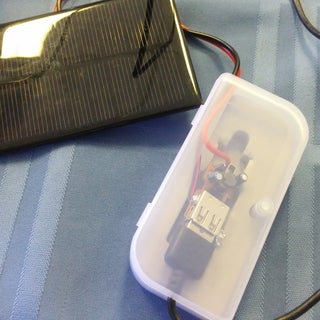 Easy 5 Minutes USB Solar Charger/Survival USB Charger