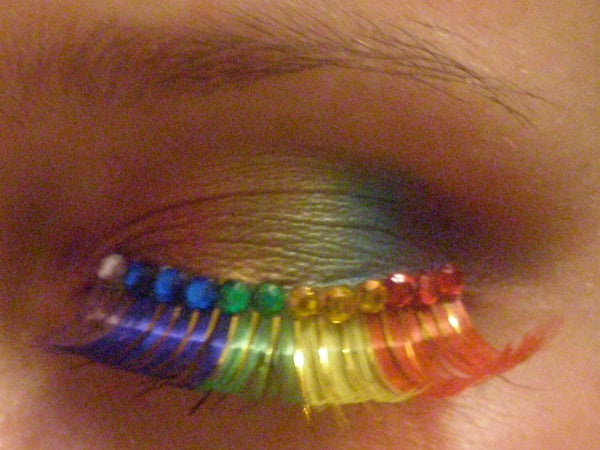 How to Get Ridiculously Rainbow Eyes