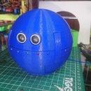 Spherical Quadruped Arduino Robot