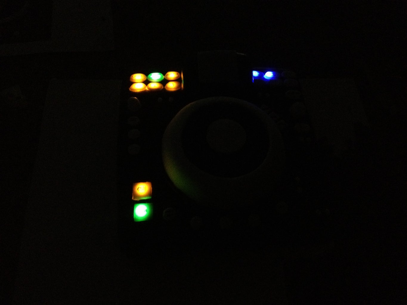 Buttons Glow in the Dark