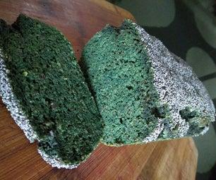 绿色面筋免费大蒜面包(keto友好)