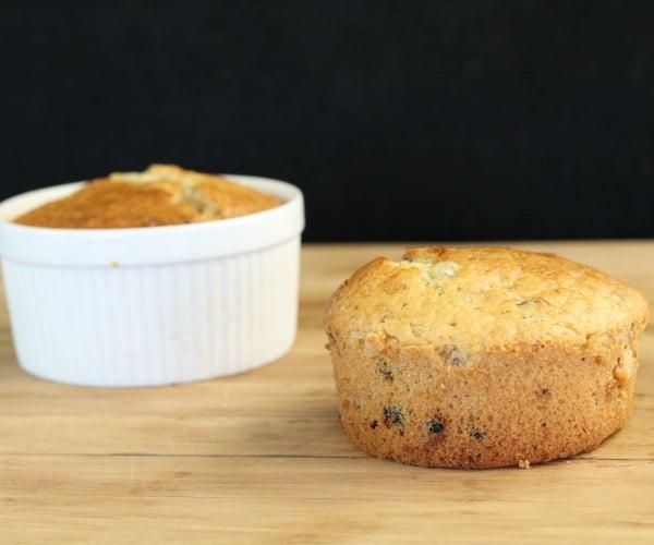 Sourdough Date Muffins
