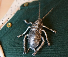 Plastic Insect/Animal Brooch