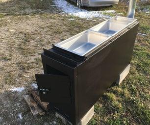 Maple Syrup Evaporator