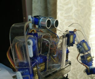 Eyes for My Homemade Humanoid LinQ