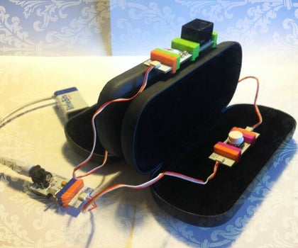 Little-Bits Two Way Morse Code