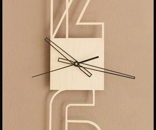 Typographic Clock