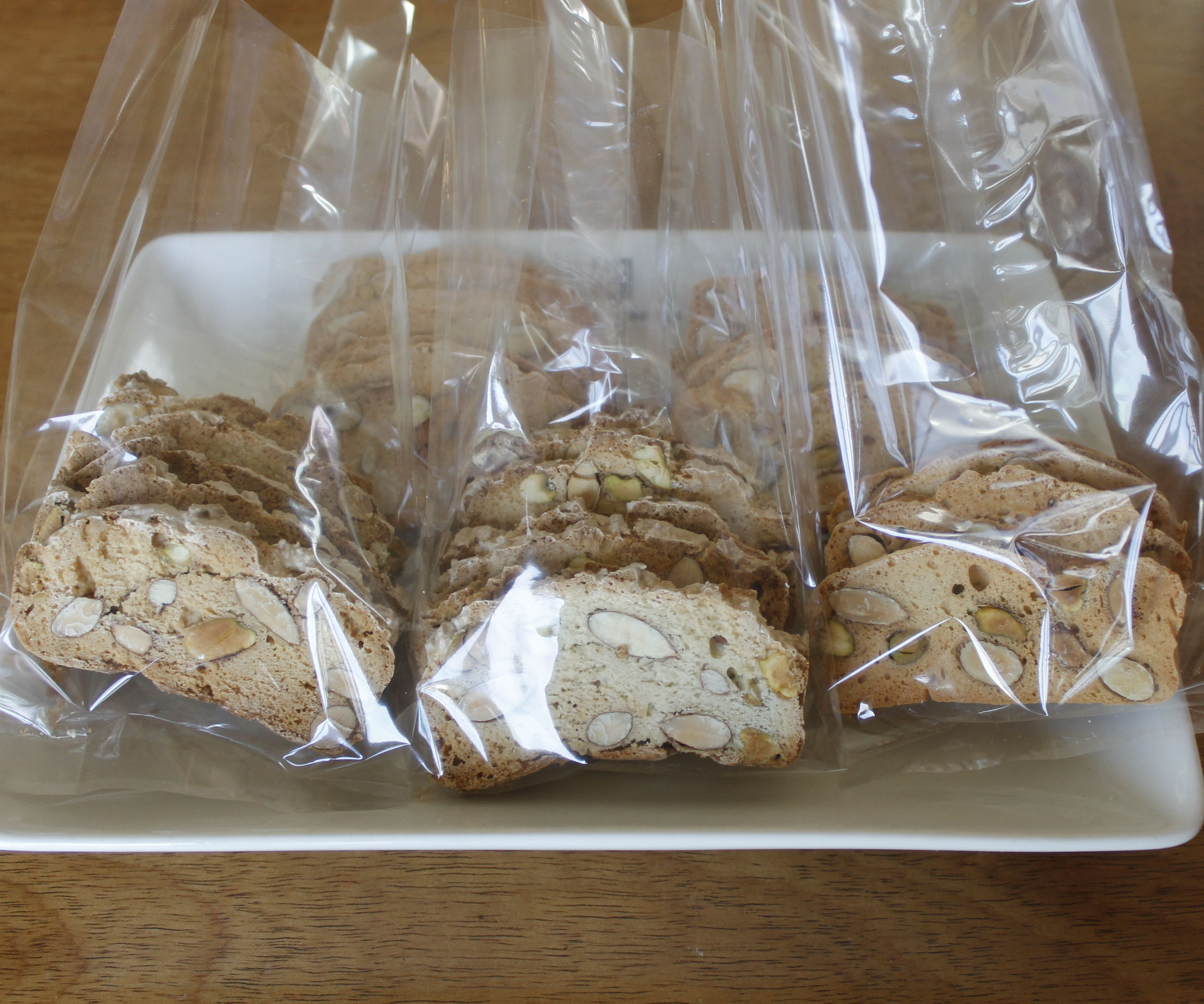 Almond Biscotti and Vegan Option