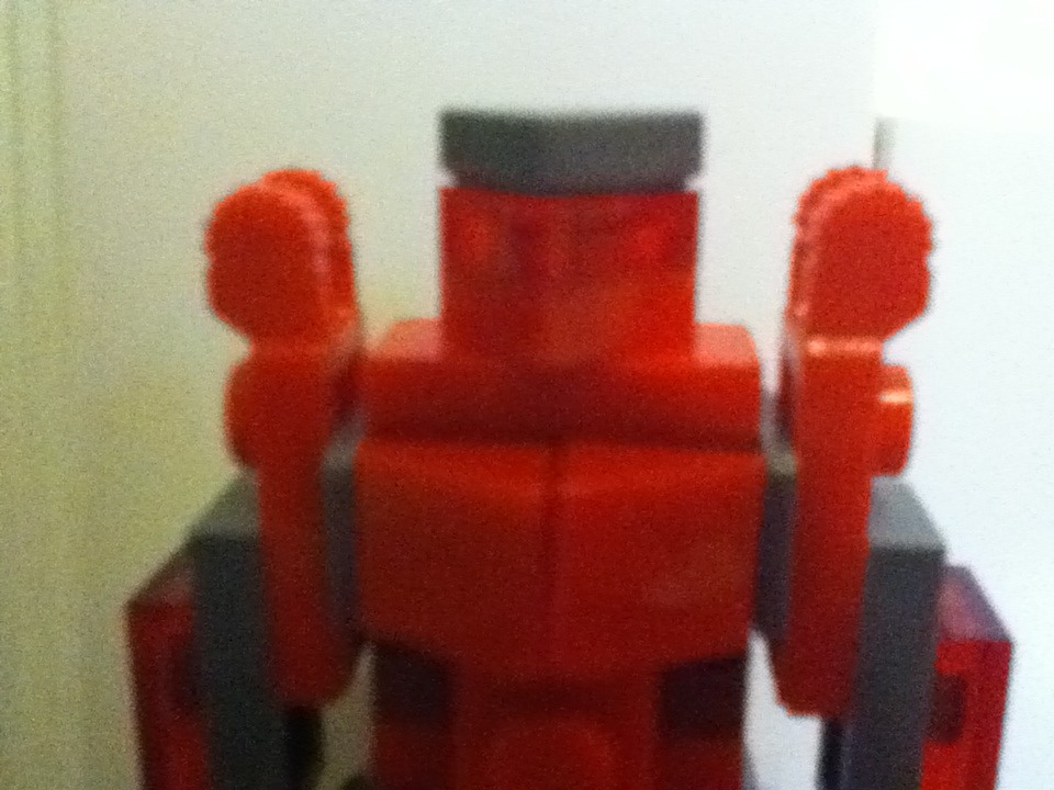 Mini Lego Pacific Rim Red Jaeger