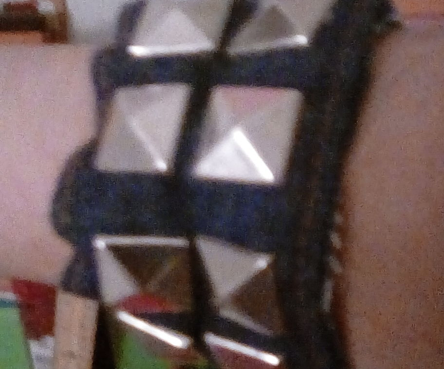 How to Make a Punk Rock-style Studded Bracelet from a Scrap Jacket Sleeve (any size!)