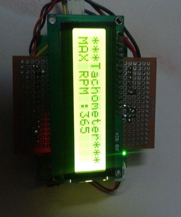 Linkit One- Portable Tachometer Noncontact