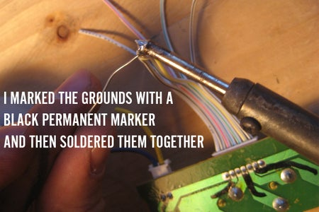 Video Switch: Solder All Grounds Together.