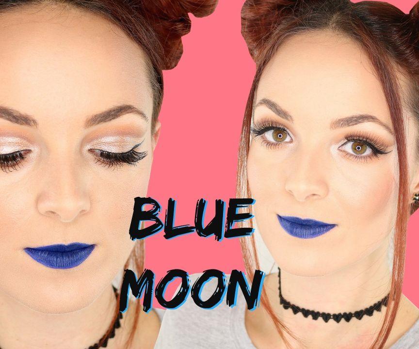 Blue Moon | Makeup Tutorial