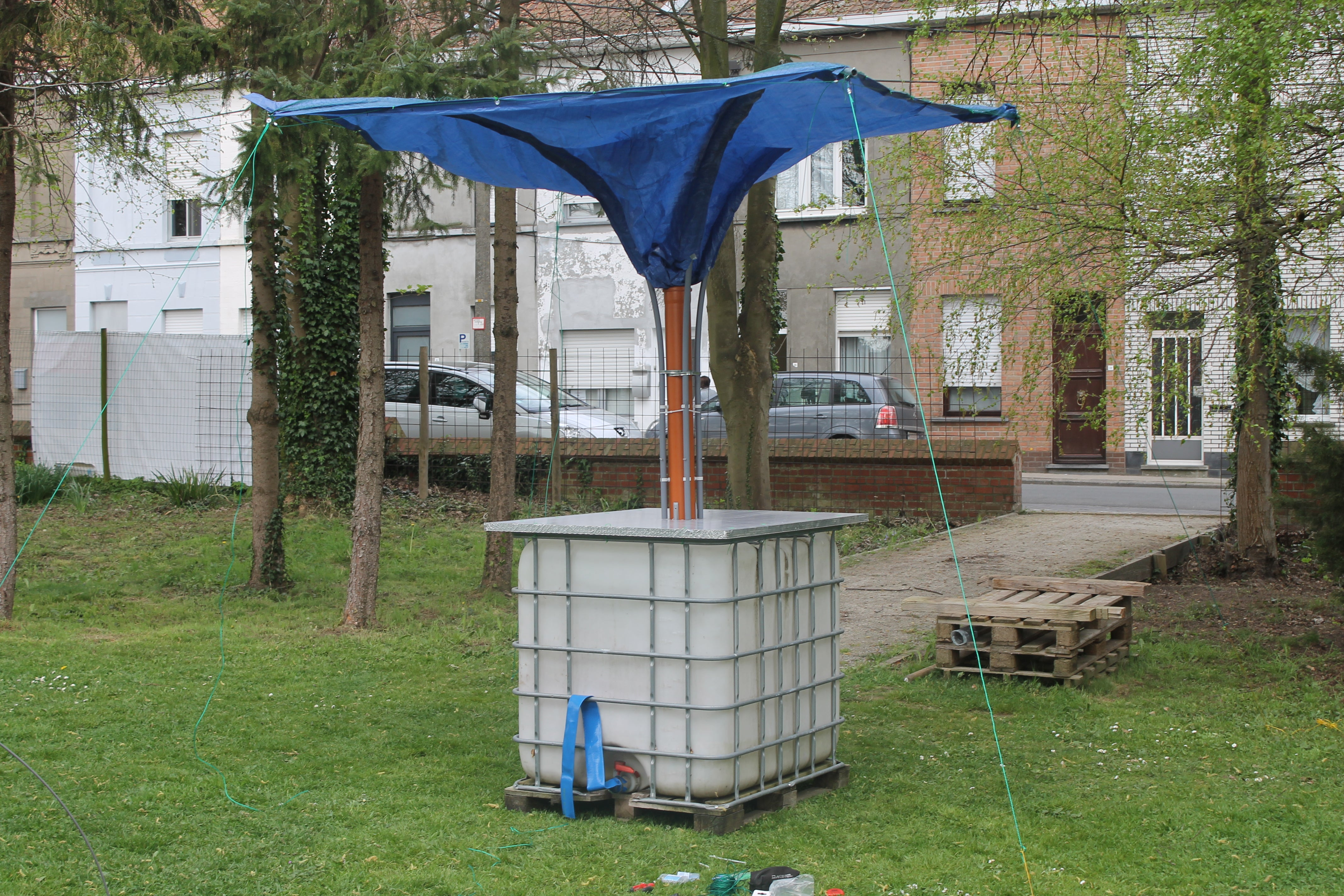 STAND-ALONE RAINWATER COLLECTOR : 8 Steps (with Pictures) - Instructables