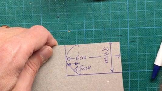 Prepare Template From Cardboard