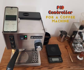 PID Controlled Thermostat Using ESP32 (Applied to a Rancilio Silvia Coffee Machine)