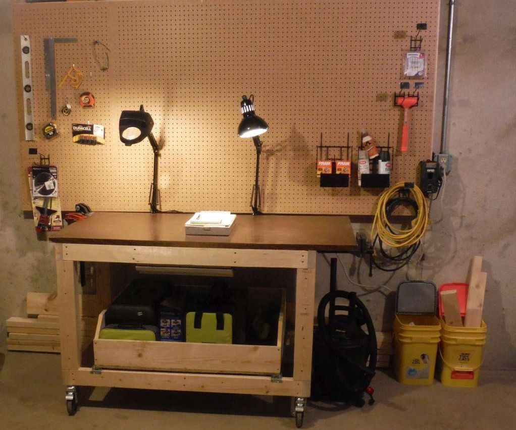 Heavyduty Workbench / Shop Cart