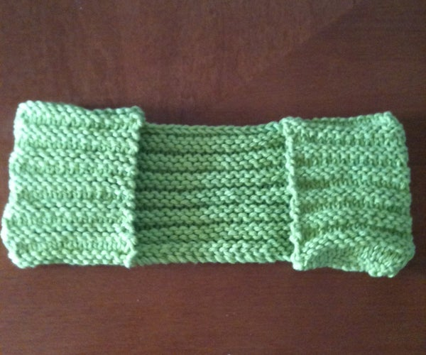 Knitted Swiffer Pad
