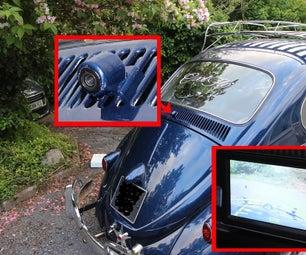 VW Beetle Rear View Camera