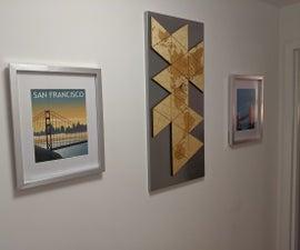 Configurable Dymaxion Wall Art - a Quarantined Art Project