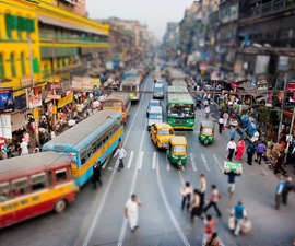 Easy Tilt Shift Miniature Photo With Microsoft Powerpoint
