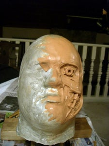 Sculpting the Metal Piece