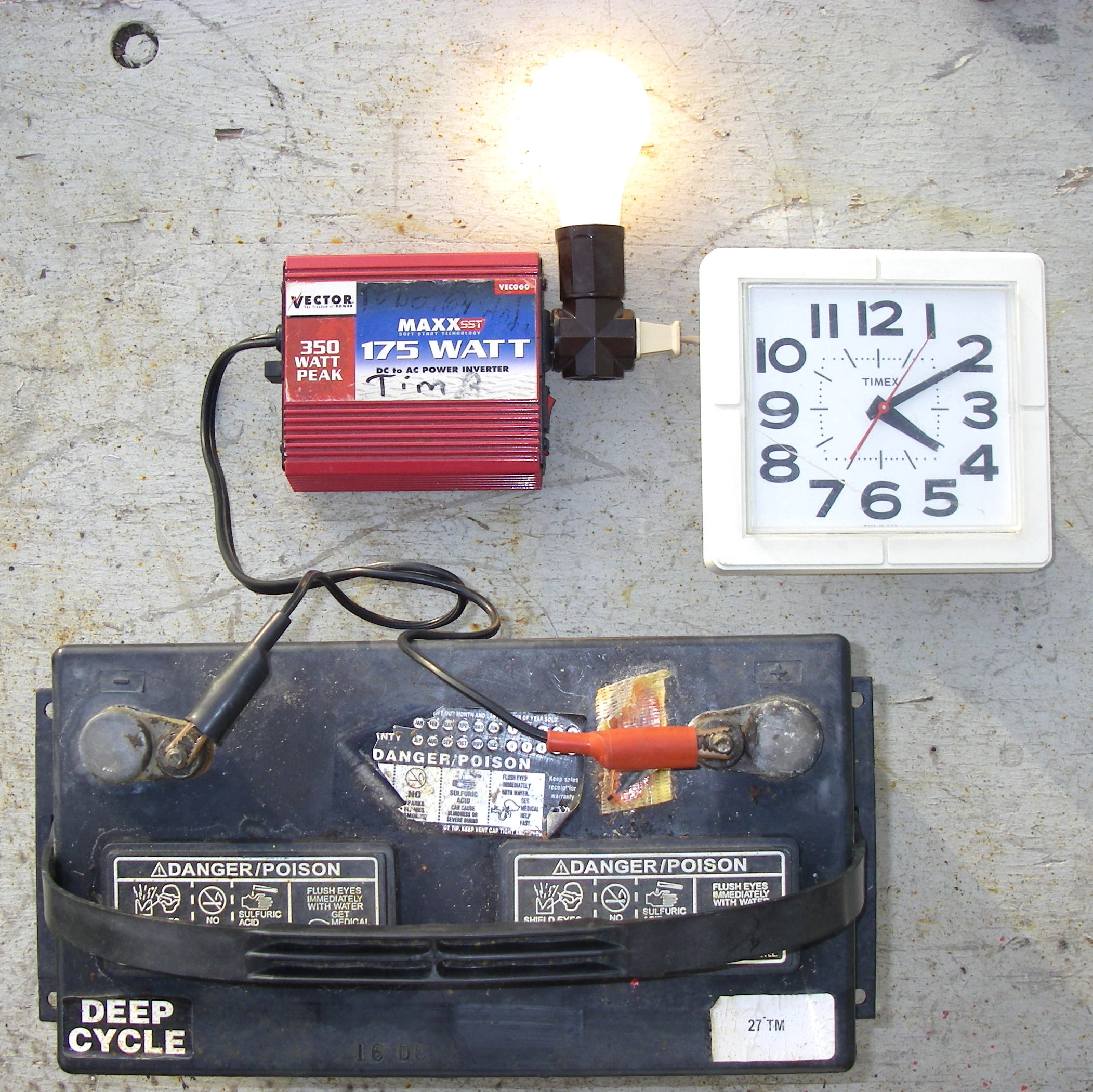 Easy Test of Battery Amp-Hours Capacity
